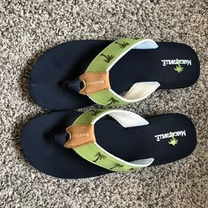 e6a14f027 NWOT Margaritaville Tropical Flip Flops